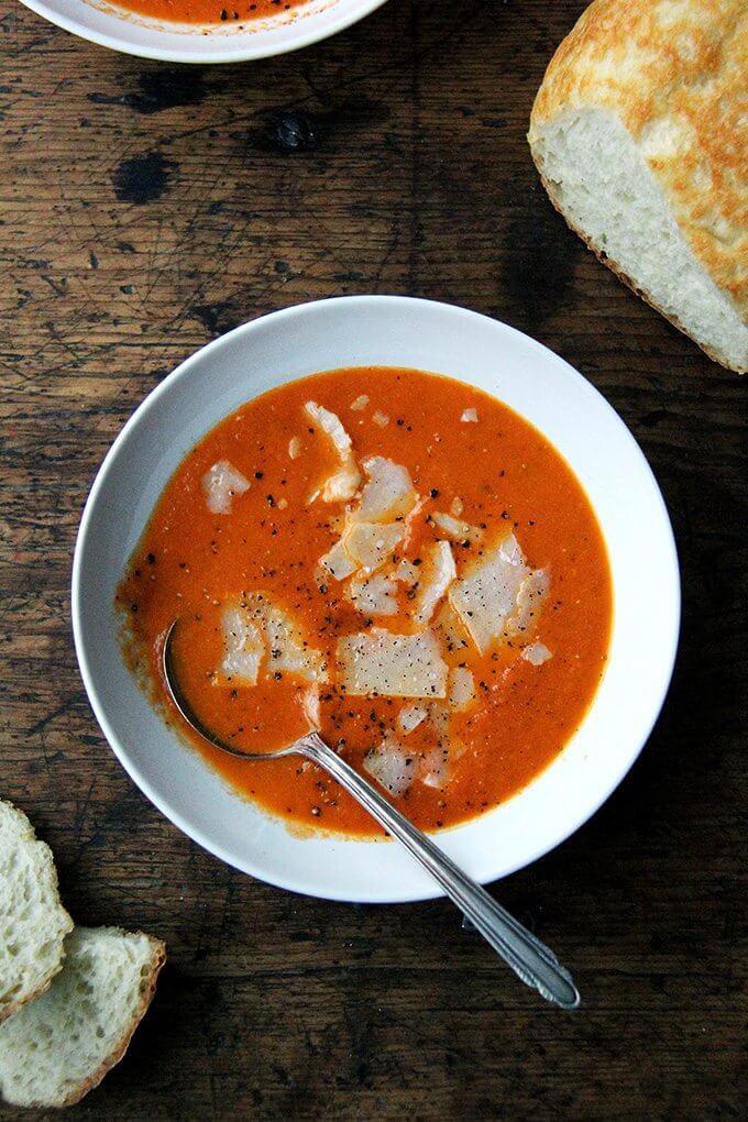 Tomato Soup From Tomato Paste  Pantry Tomato Soup
