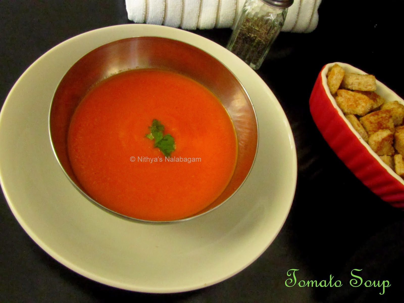 Tomato Soup Indian  Tomato Soup Indian Style Nithya s Nalabagam