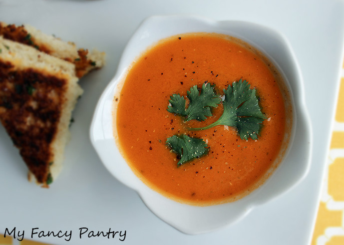 Tomato Soup Indian  Tamatar Shorba Indian Spiced Tomato Soup Ve arian