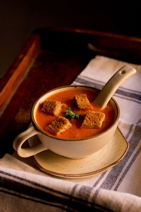 Tomato Soup Indian  tomato soup recipe easy restaurant style delicious tomato