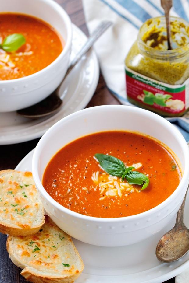 Tomato Soup Recipes  Secret Ingre nt Tomato Basil Soup Recipe