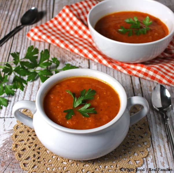 Tomato Soup With Fresh Tomatoes  Fresh Tomato Soup from Garden Tomatoes