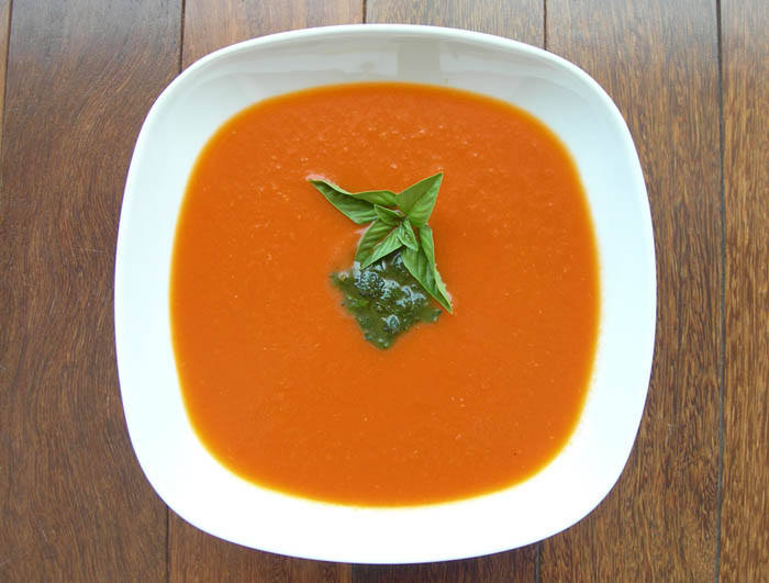Tomato Soup With Fresh Tomatoes  How to Make Fresh Tomato Soup — Former Chef