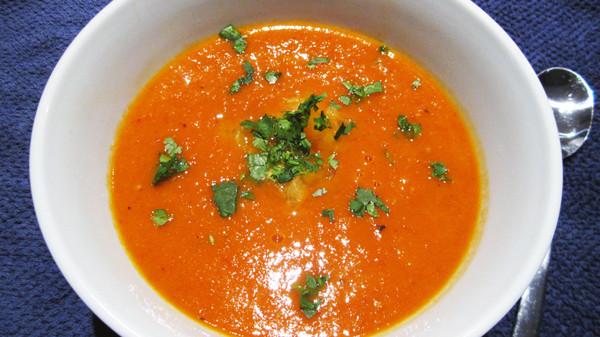 Tomato Soup With Fresh Tomatoes  Roasted Fresh Tomato Soup Recipe Vegan – Vegangela