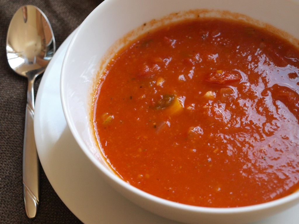 Tomato Soup With Fresh Tomatoes  ELC Day 22 Fresh Tomato Soup Minnesota Locavore