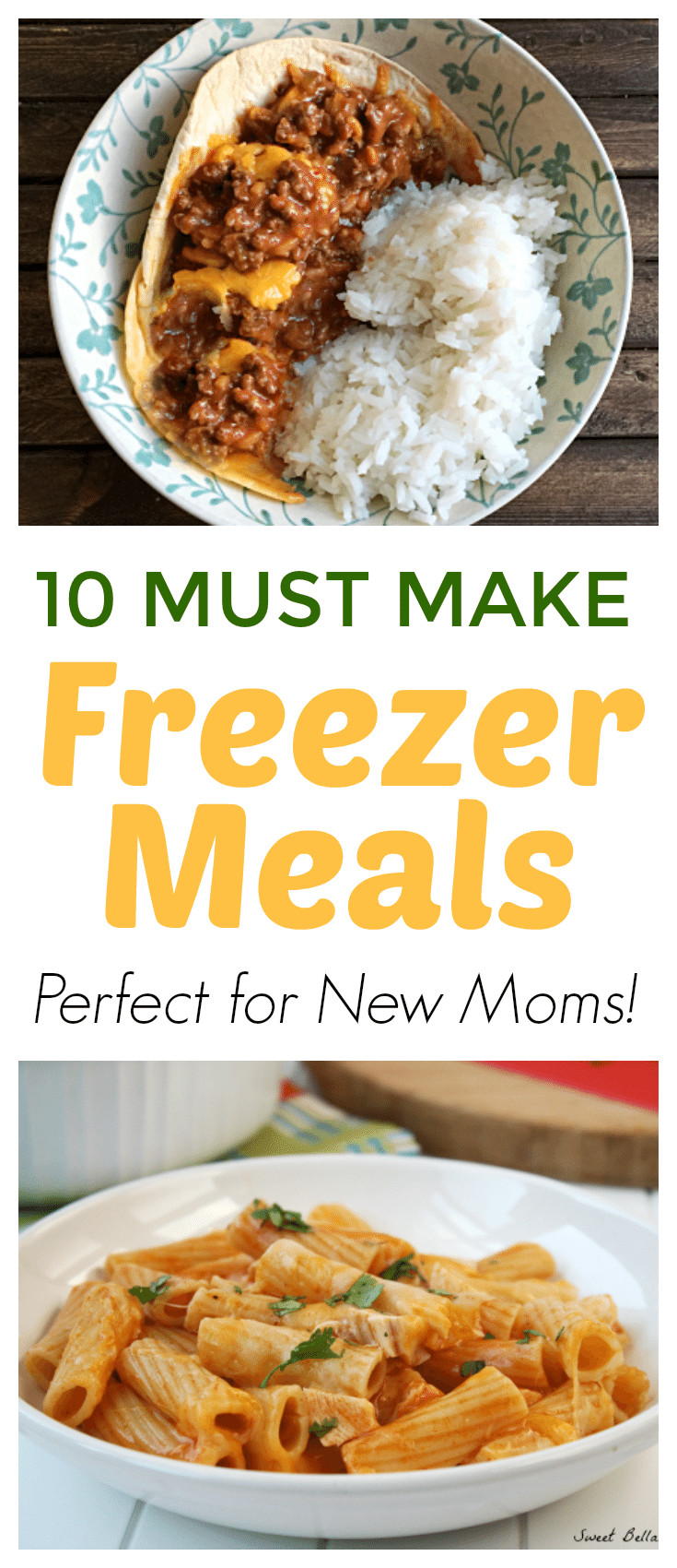 Top Ten Meals For Dinner  Ten Freezer Meals for New Moms Grace and Good Eats