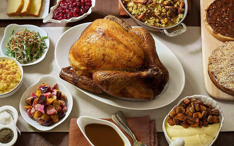 Top Ten Meals For Dinner  The 9 Best Restaurants in L A Doing Thanksgiving Dinner