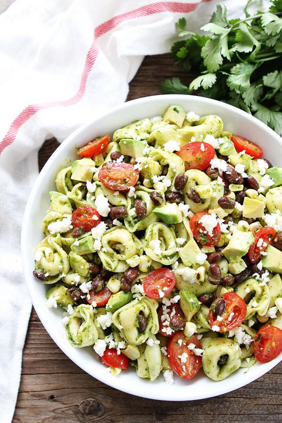 Tortellini Pasta Salad  Mexican Tortellini Salad Recipe