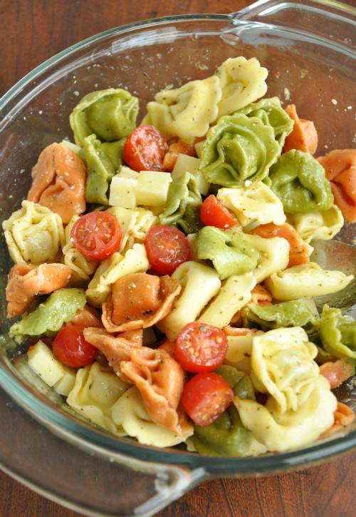 Tortellini Pasta Salad  Tortellini Pasta Salad