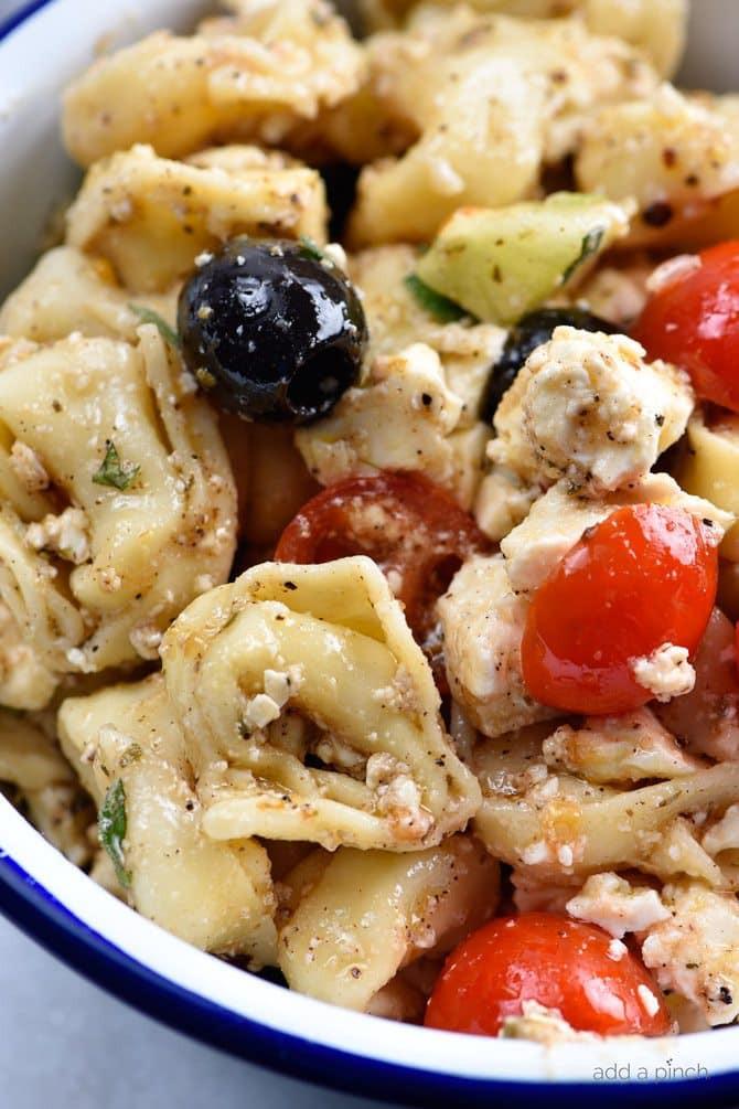 Tortellini Pasta Salad  Easy Tortellini Pasta Salad Recipe Add a Pinch