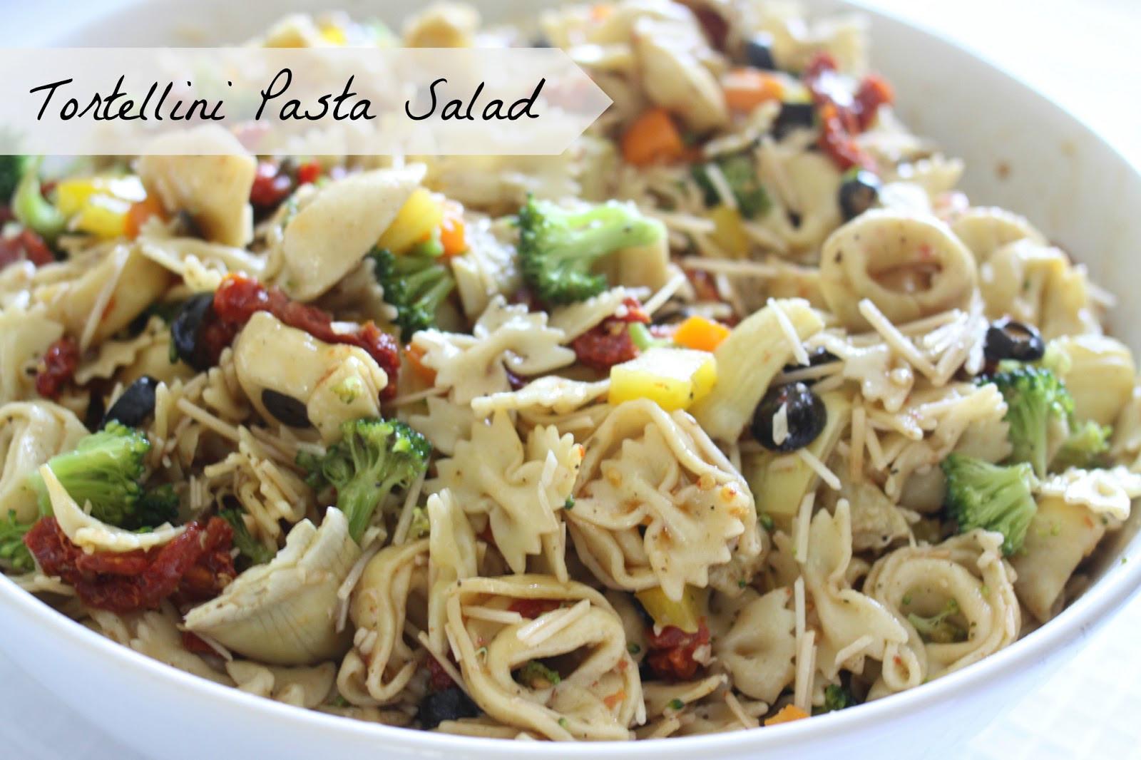 Tortellini Pasta Salad  The Larson Lingo Tortellini Pasta Salad