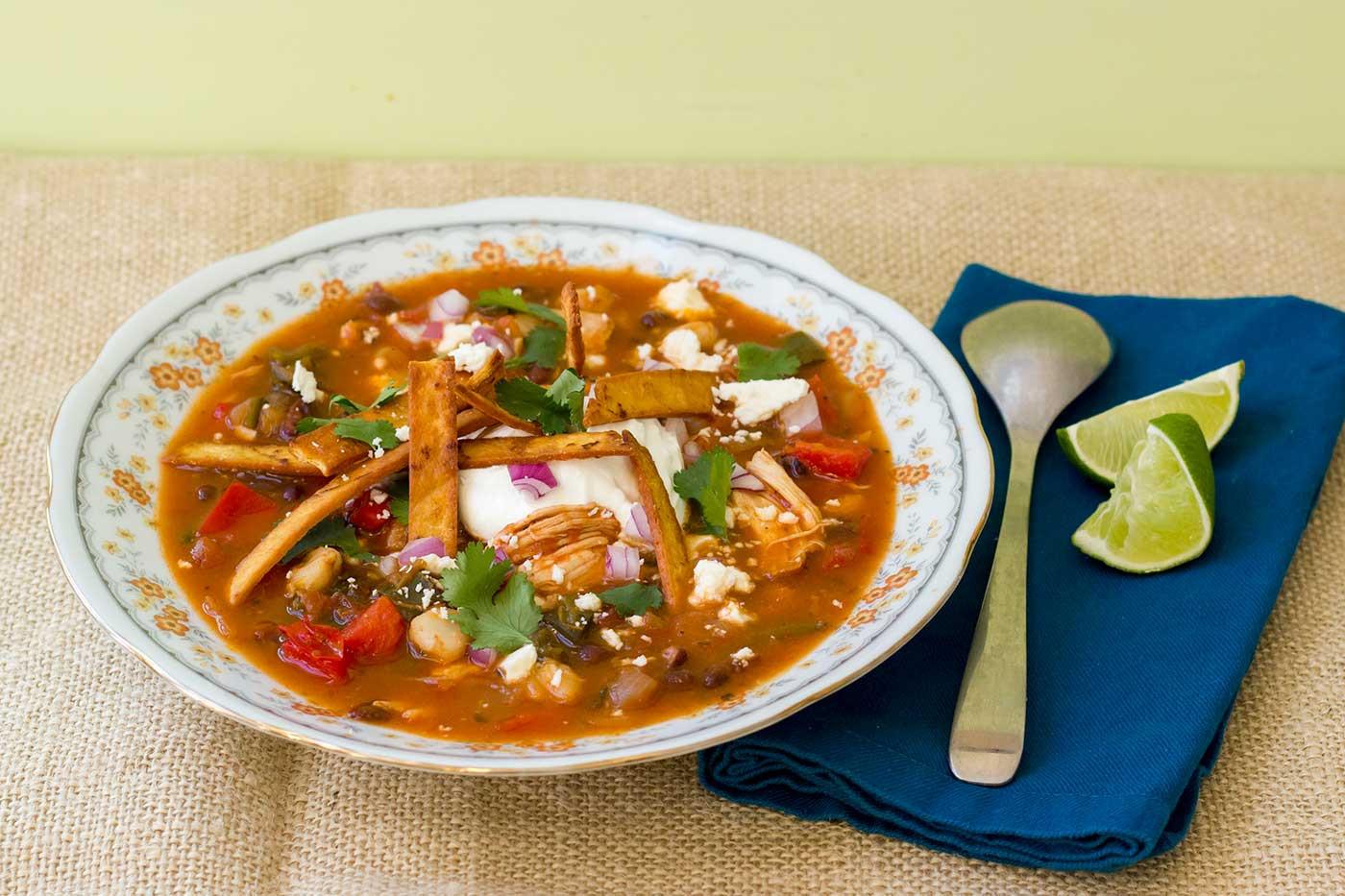 Tortilla Chicken Soup  Chicken Tortilla Soup – Kitchenette