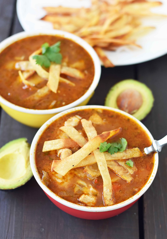 Tortilla Chicken Soup  Chicken Tortilla Soup