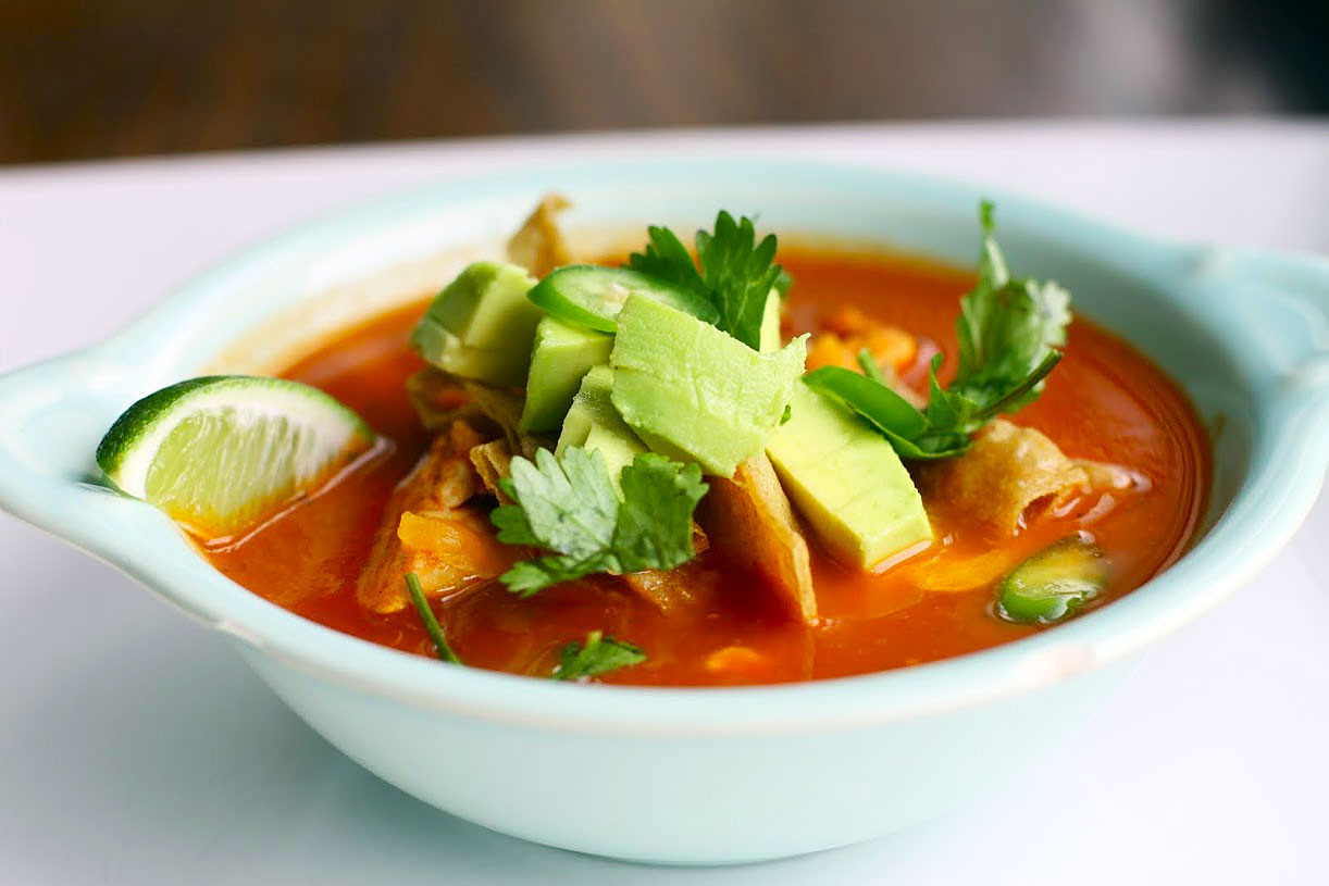 Tortilla Chicken Soup  Chicken Tortilla Soup – Simple fort Food – Recipes that
