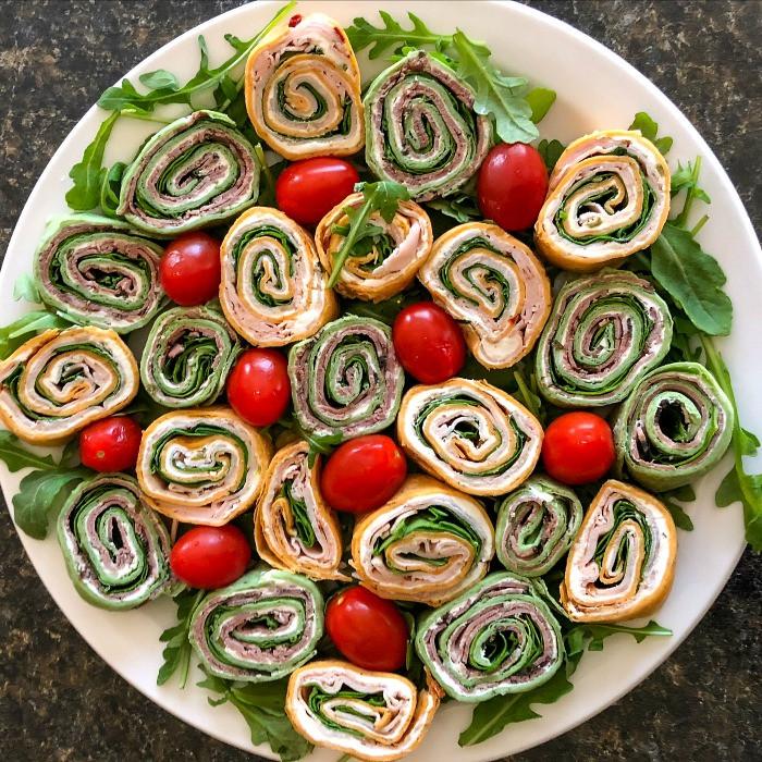 Tortilla Wraps Appetizer  Tortilla Pinwheel Recipes