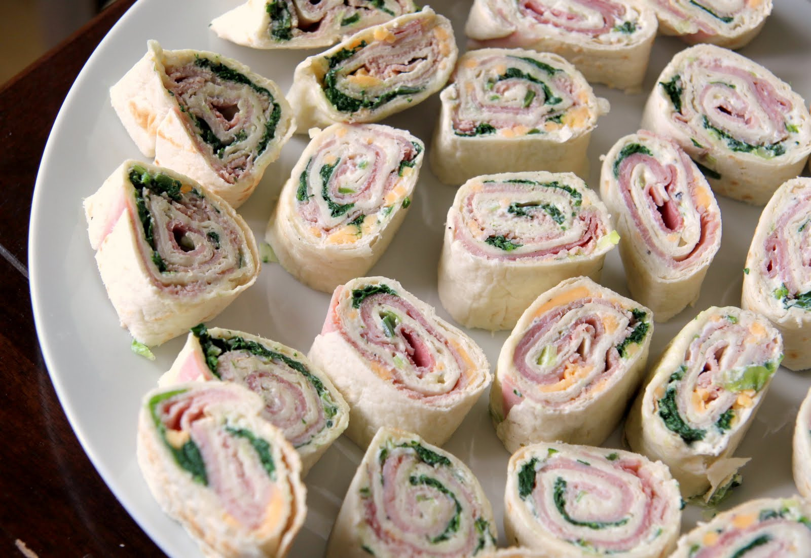 Tortilla Wraps Appetizer  Cold Appetizers Ideas For A Crowd People by