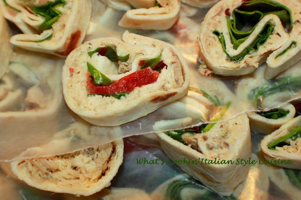 Tortilla Wraps Appetizer  Tortilla Italian Appetizer