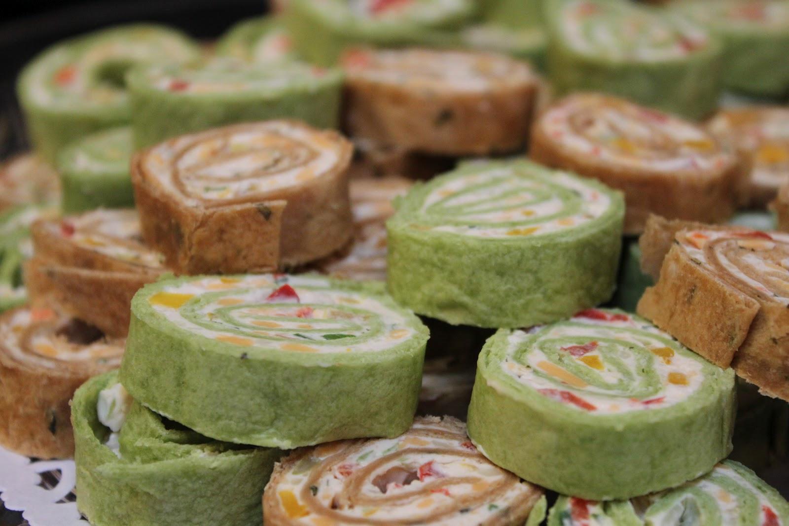 Tortilla Wraps Appetizer  Sweet on You TORTILLA PINWHEELS