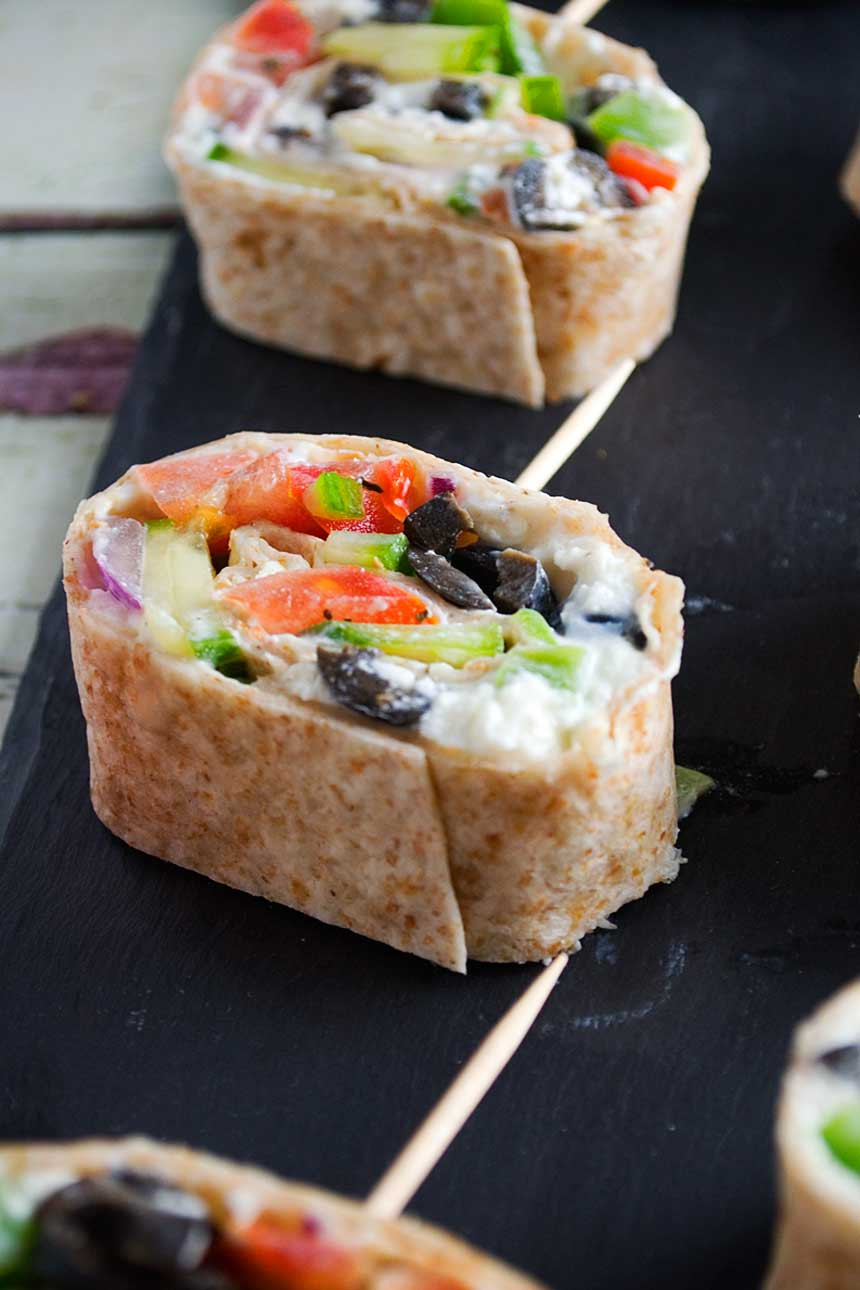 Tortilla Wraps Appetizer  easy tortilla wrap appetizers