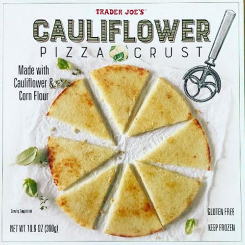 Trader Joe'S Cauliflower Pizza  Cauliflower Pizza Crust at Trader Joe s