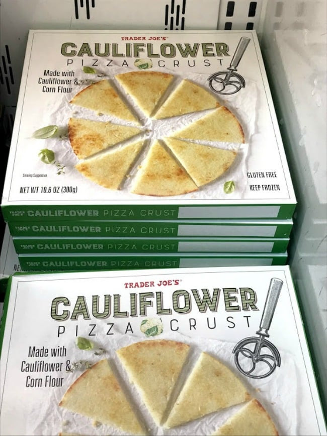 Trader Joe'S Cauliflower Pizza Crust  My Favorite Things to Buy at Trader Joe's