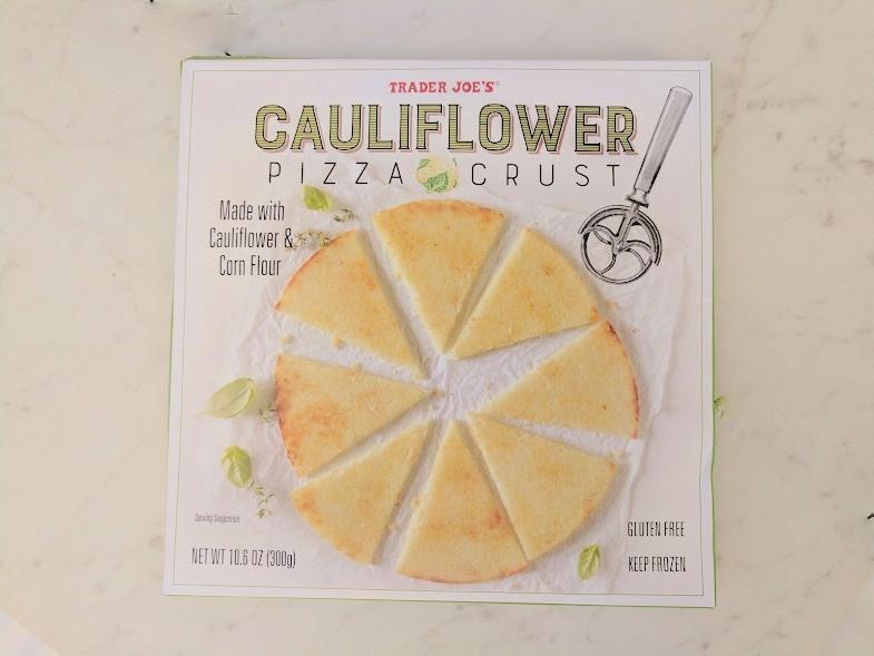 Trader Joe'S Cauliflower Pizza Crust  Trader Joe's Cauliflower Pizza Crust Review Run Eat