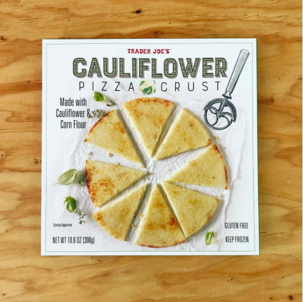 Trader Joe'S Cauliflower Pizza Crust  Trader Joe's Cauliflower Pizza Will Delight Gluten Free