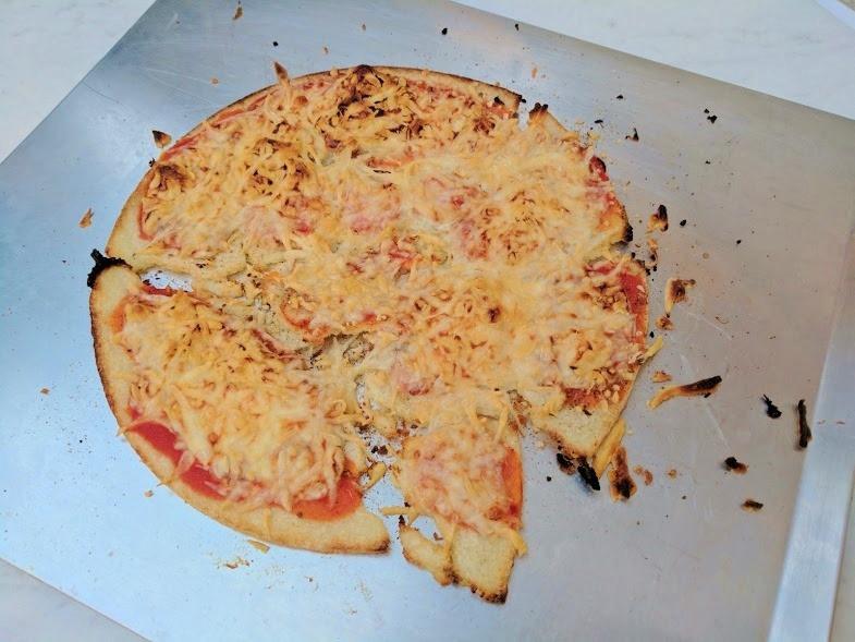 Trader Joe'S Cauliflower Pizza Crust  Trader Joe's Cauliflower Pizza Crust Review Run Eat Repeat