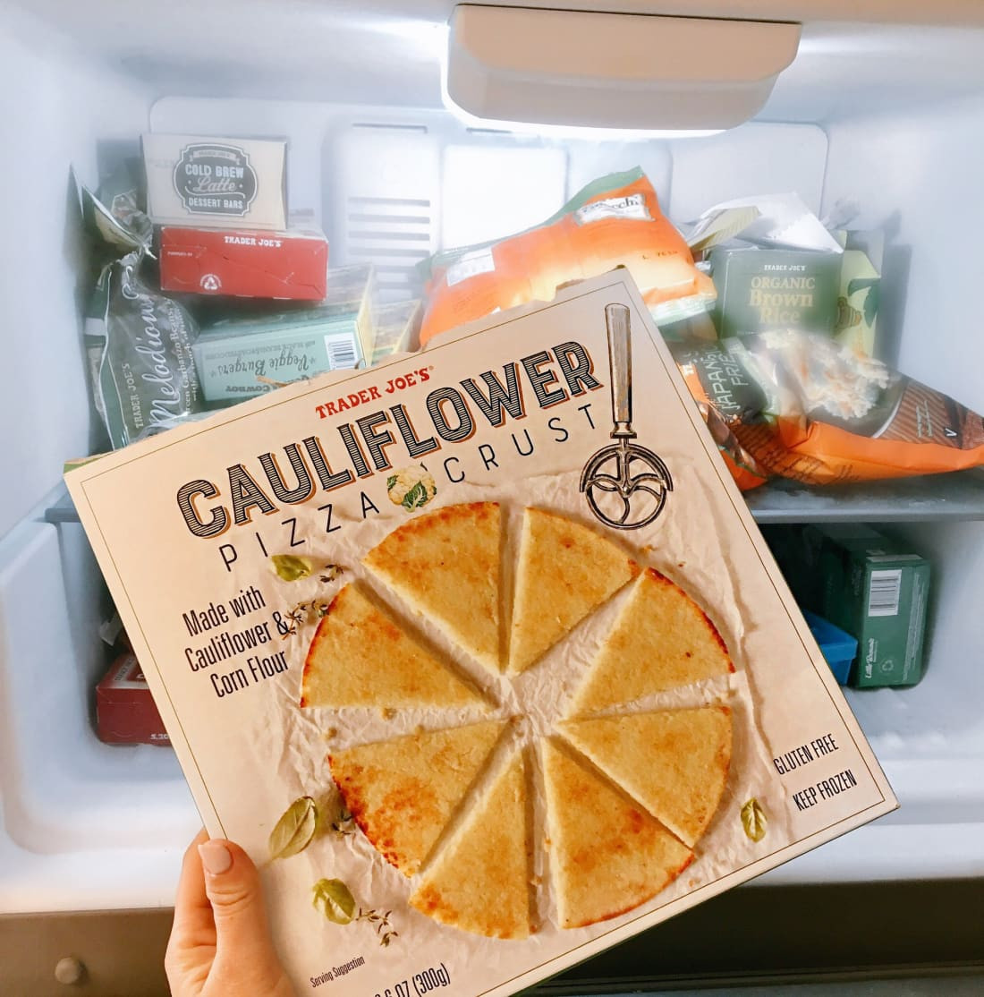 Trader Joe'S Cauliflower Pizza  Trader Joe s Cauliflower Crust Pizza