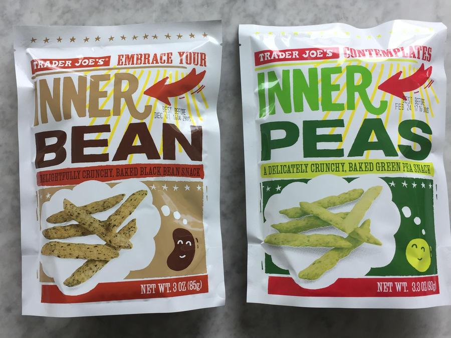 Trader Joe'S Healthy Snacks  Trader Joe s Inner Peas and Inner Beans 19 Healthy