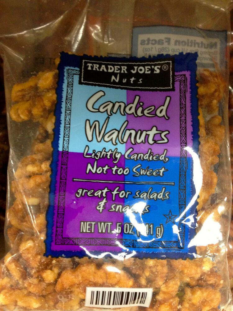 Trader Joe'S Healthy Snacks  Trader Joe s Can d Pecans or Can d Walnuts Crunchy