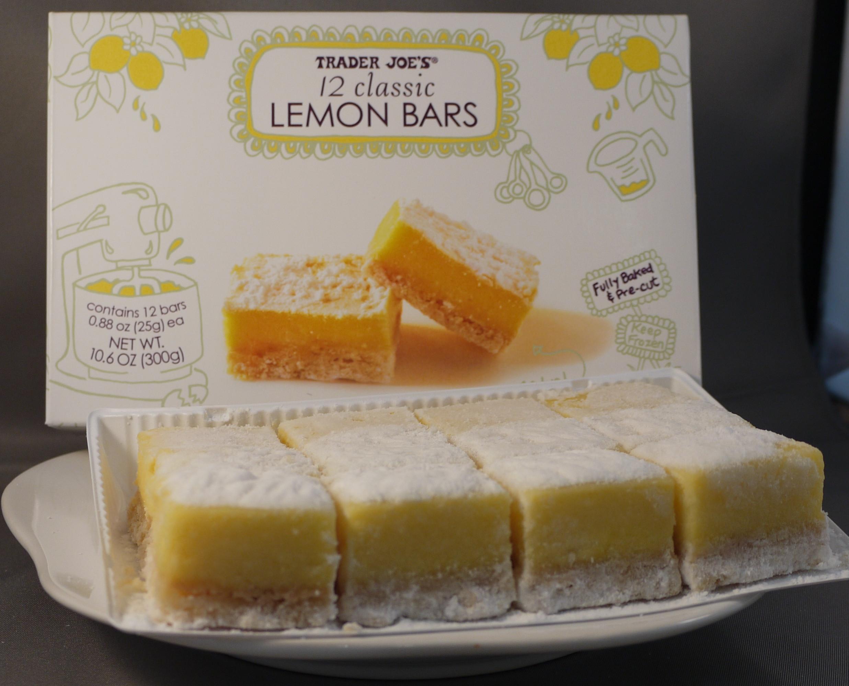 Trader Joes Desserts  Lemon Bars from Trader Joes LemonBars – Dessert Darling