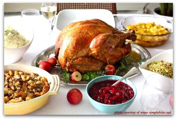 Traditional American Christmas Dinner  Traditional Thanksgiving Dinner Menu Recipe Girl