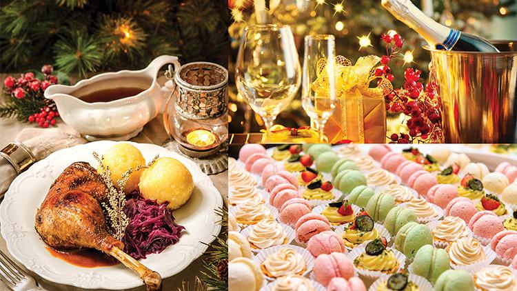 Traditional American Christmas Dinner  Sunrise Kempinski Hotel Beijing & Yanqi Island Holiday