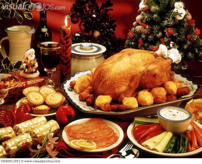 Traditional American Christmas Dinner  Church providing Christmas dinner again