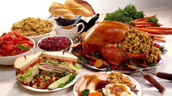 Traditional American Christmas Dinner  TRADITIONAL AMERICAN THANKSGIVING DINNER TO BE HELD AT