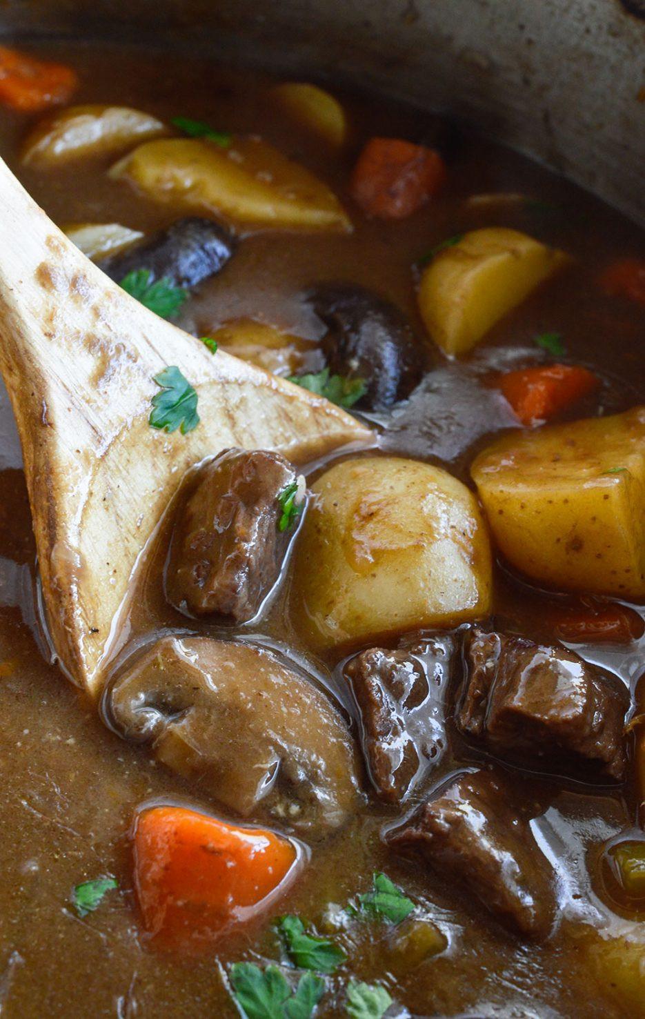 Traditional Beef Stew Recipe  Easy Beef Stew Recipe WonkyWonderful