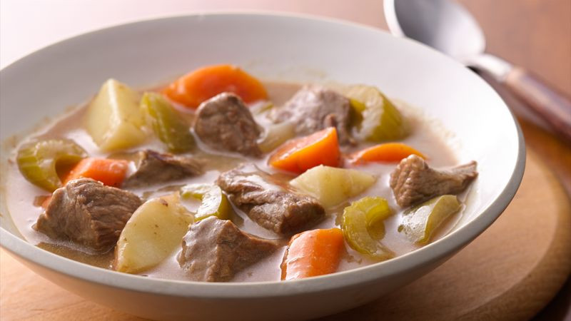 Traditional Beef Stew Recipe  Classic Beef Stew Recipe BettyCrocker