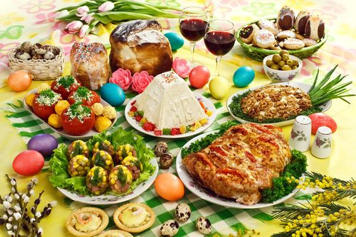 Traditional Easter Dinner TRADITIONAL EASTER IN SLOVAKIA TRADITION MENU & VOCAB