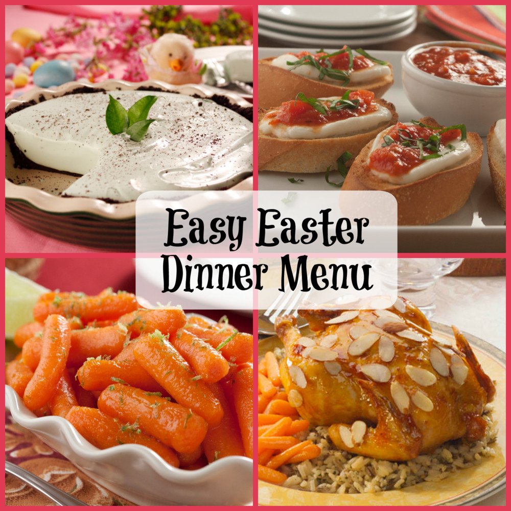 Traditional Easter Dinner Menu  Easy Easter Dinner Menu