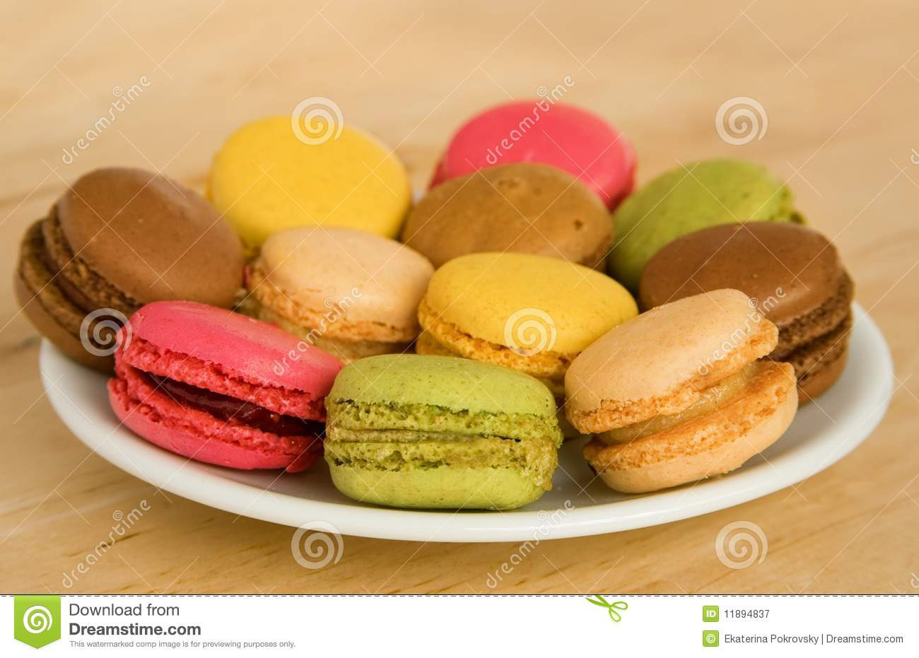 Traditional French Desserts  Traditional French Dessert Royalty Free Stock graphy