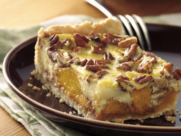 Traditional German Desserts  Easy Peach Kuchen recipe from Betty Crocker