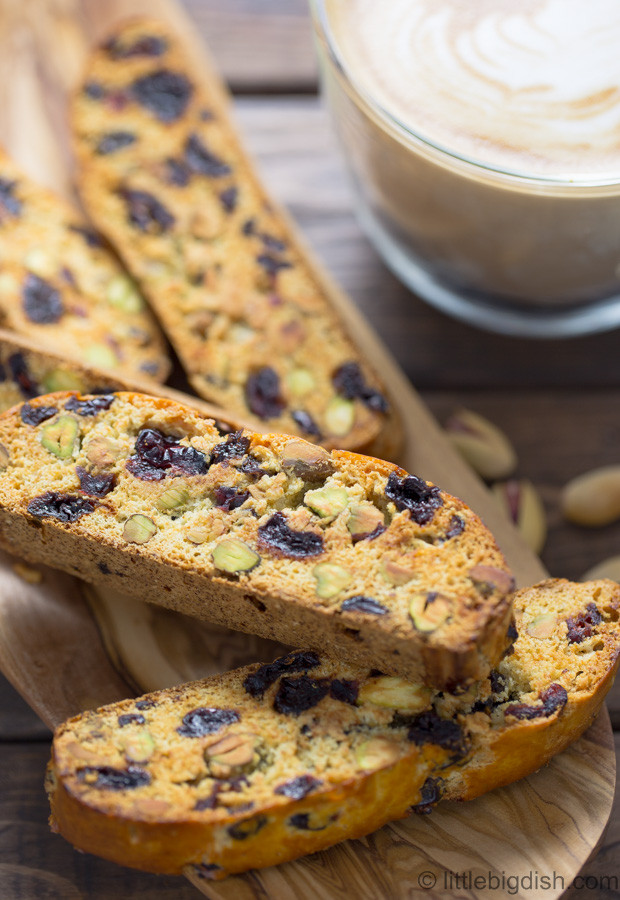 Traditional Italian Biscotti Recipe  Sour Cherry Cranberry and Pistachio Biscotti Recipe i
