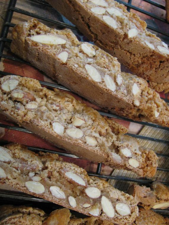 Traditional Italian Biscotti Recipe  Italian Almond Biscotti by Lady Sweet Cakes