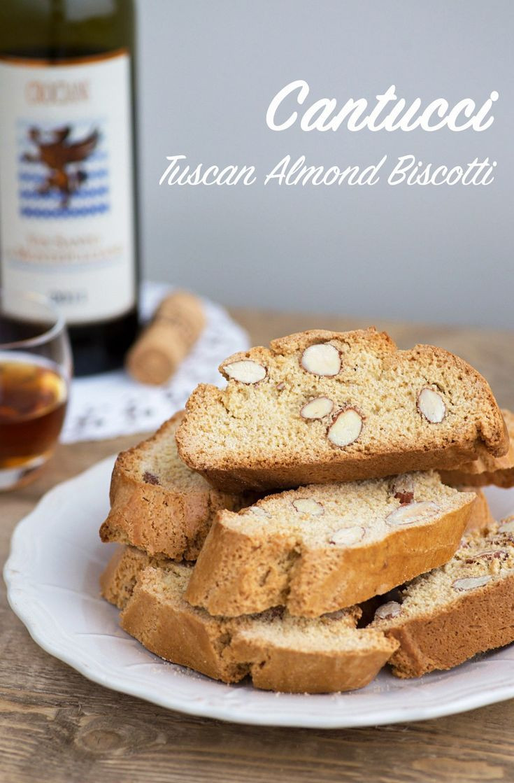 Traditional Italian Biscotti Recipe  A traditional Tuscan recipe Cantucci biscotti