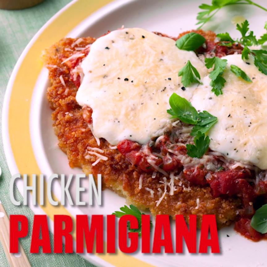 Traditional Italian Recipes  Chicken Parmigiana Recipe