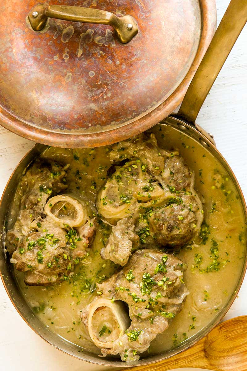 Traditional Italian Recipes  OSSO BUCO MILANESE RECIPE traditional Italian dish