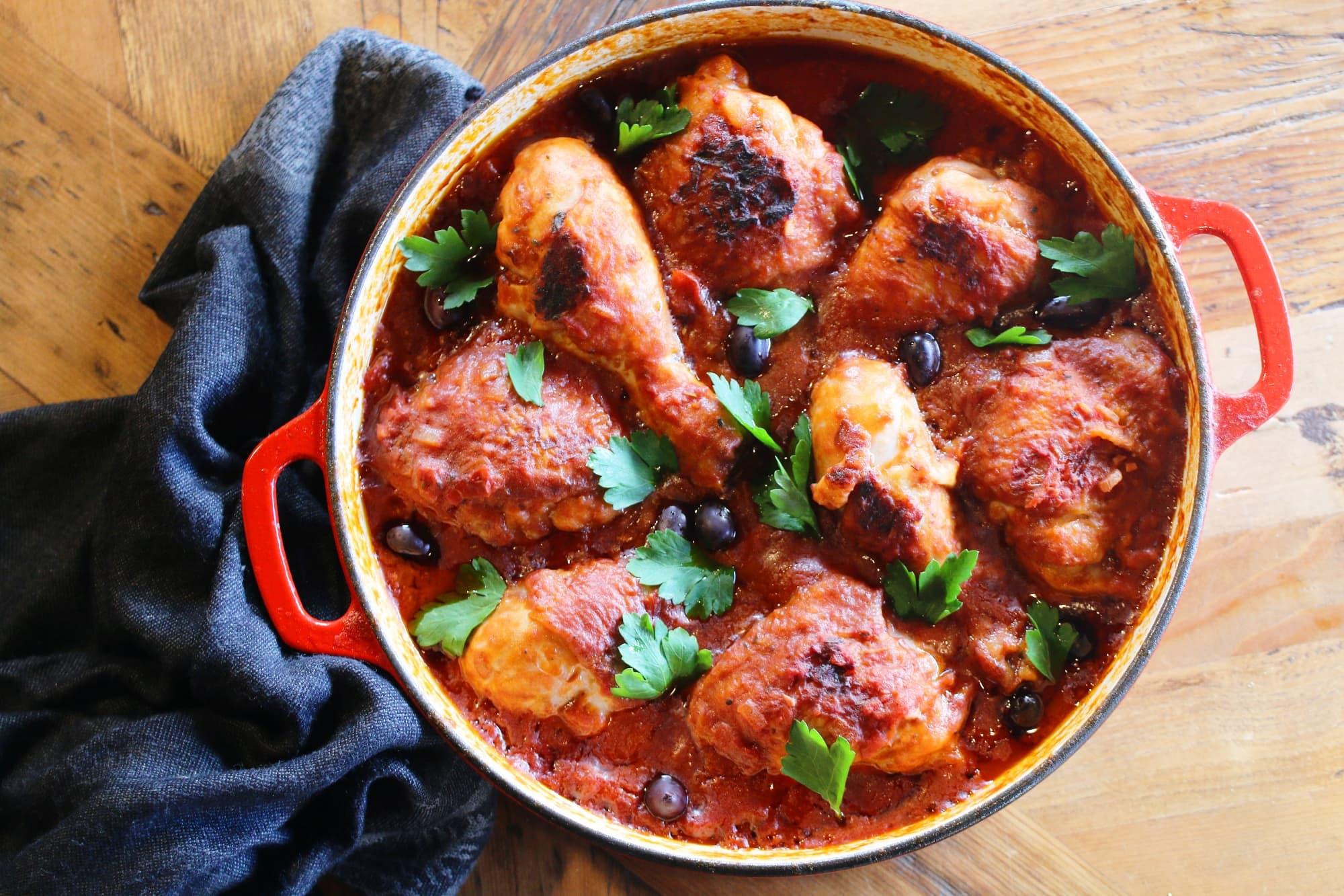 Traditional Italian Recipes  Authentic Italian Chicken Cacciatore Recipe