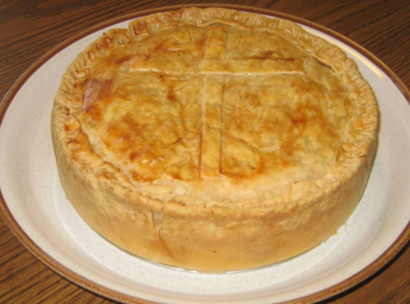 Traditional Italian Recipes  Italian Easter Pie Pizza Chena Recipe