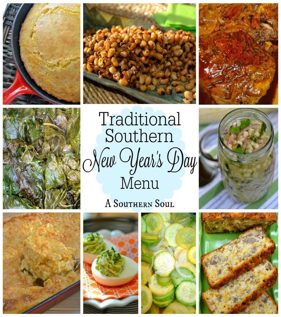 Traditional New Year'S Day Dinner  Traditional Southern New Year s Day Menu A Southern Soul